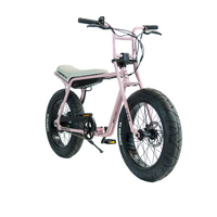Super73 ZG Series e Bike Pink Angle