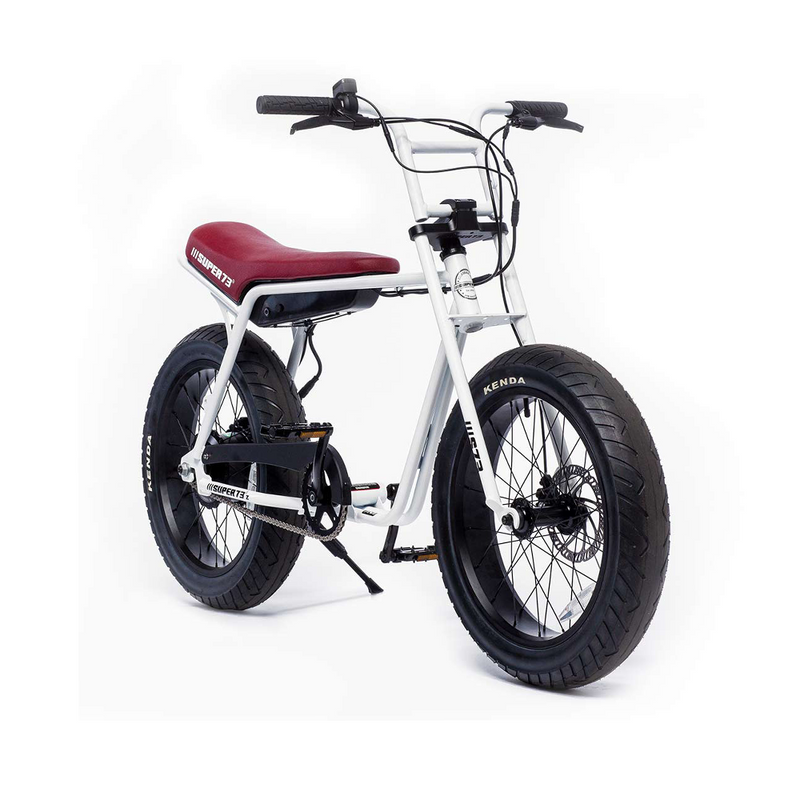 Super73 ZG Series e Bike White Angle