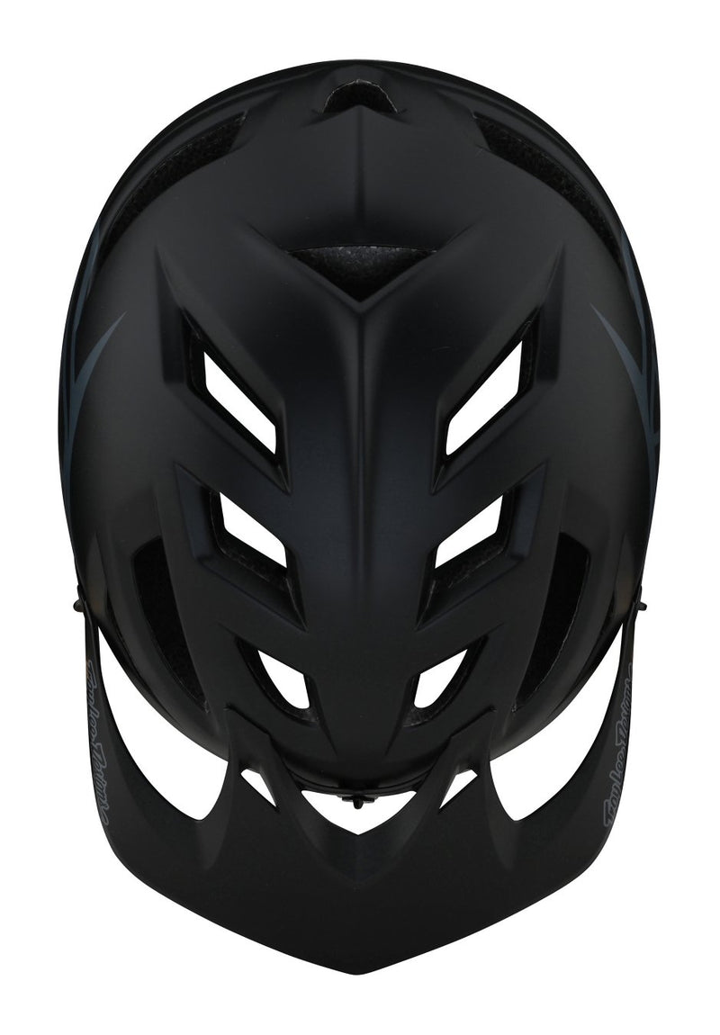 TLD A1 AS MIPS Helmet Classic Black Top