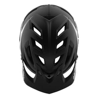 TLD A1 AS MIPS Helmet Classic Black White Top