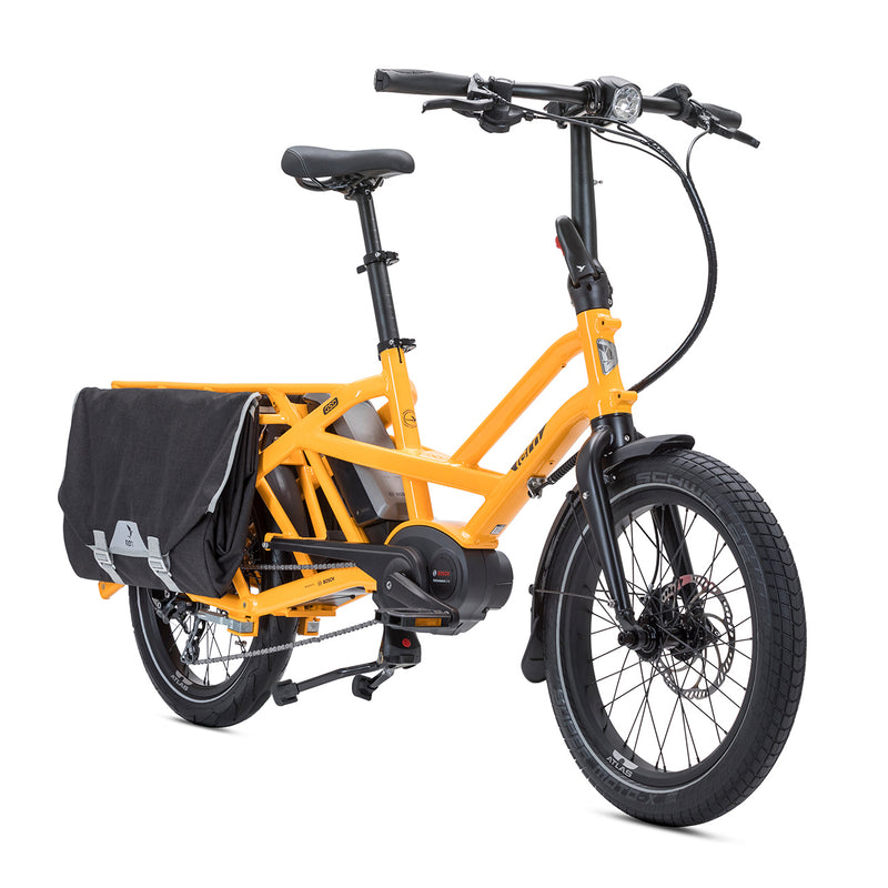 Tern GSD S00 e Bike Yellow Angle