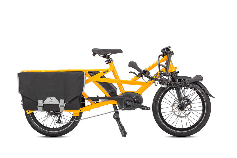 Tern GSD S00 e Bike Yellow Folded