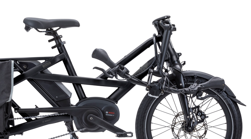 Tern GSD S10 e Bike Matte Black Folded