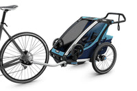 Thule Chariot Cross Trailer Blue Bike