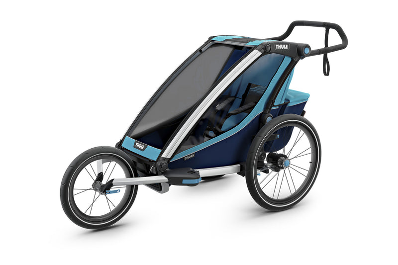 Thule Chariot Cross Trailer Blue Jogger