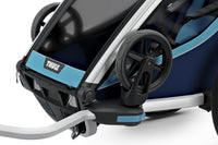 Thule Chariot Cross Trailer Blue Onboard Storage