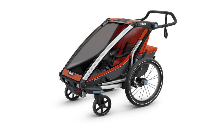 Thule Chariot Cross Trailer Roarange Stroller Mode