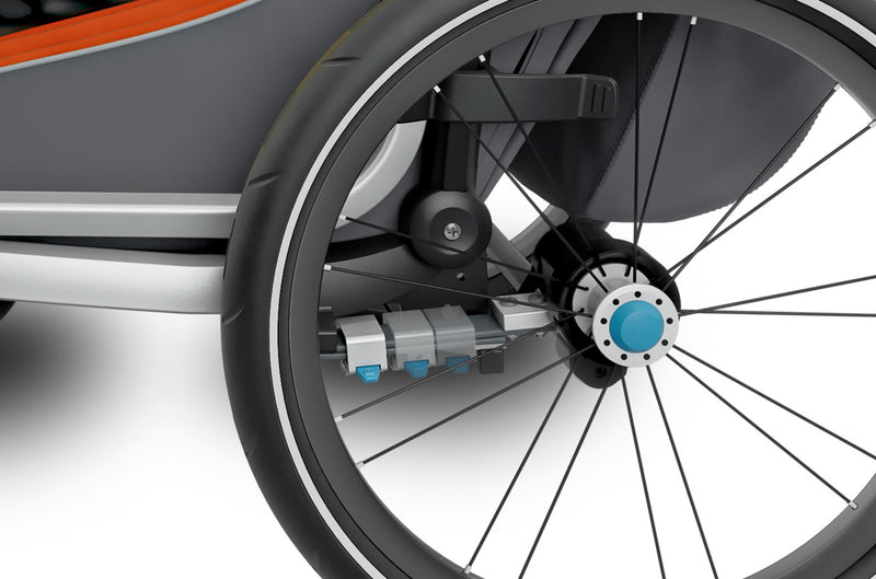 Thule Chariot Cross Trailer Roarange Suspension