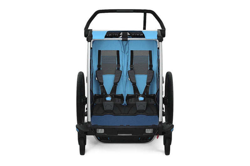 Thule Chariot Cross2 Trailer Blue Front