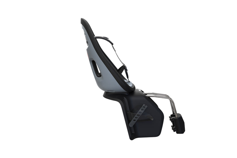Thule Yepp Nexxt Maxi Child Bike Seat Rear Frame Mount Monument Grey Side