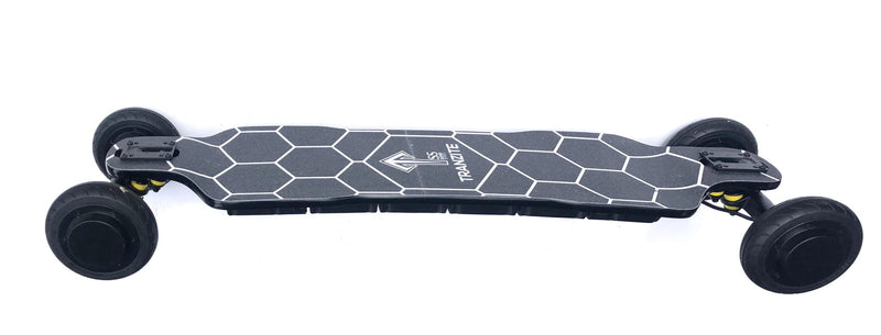 Tranzite GT Black e Skateboard Side