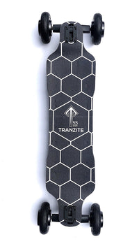 Tranzite GT Black e Skateboard Top Deck