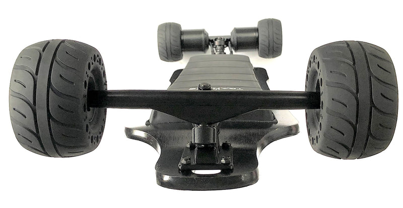 Tranzite Hybrid Direct Drive e Skateboard 115mm Airless Rubber Wheels Bottom