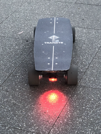 Tranzite Mini e Skateboard Brake Light