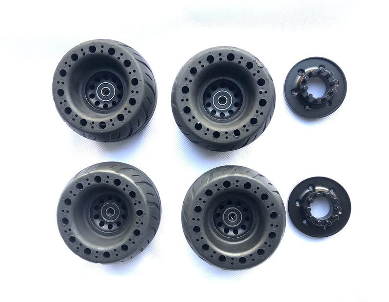 Tranzite Rubber Airless Wheels eSkateboard Wheels