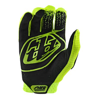 Troy Lee Designs Air Glove Flow Yellow Back
