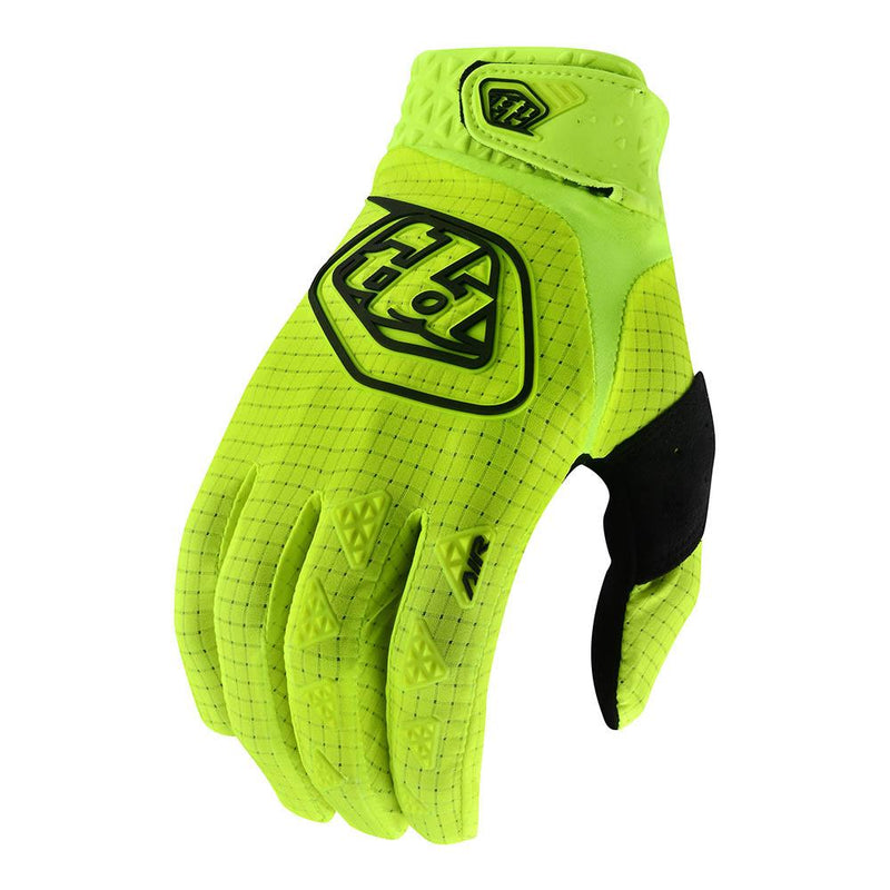 Troy Lee Designs Air Glove Flow Yellow Front