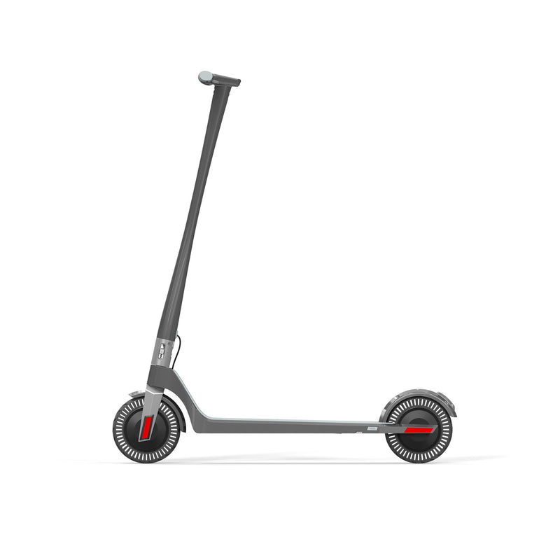Unagi E450-V3 Dual Motor Electric Scooter Gotham Grey Side