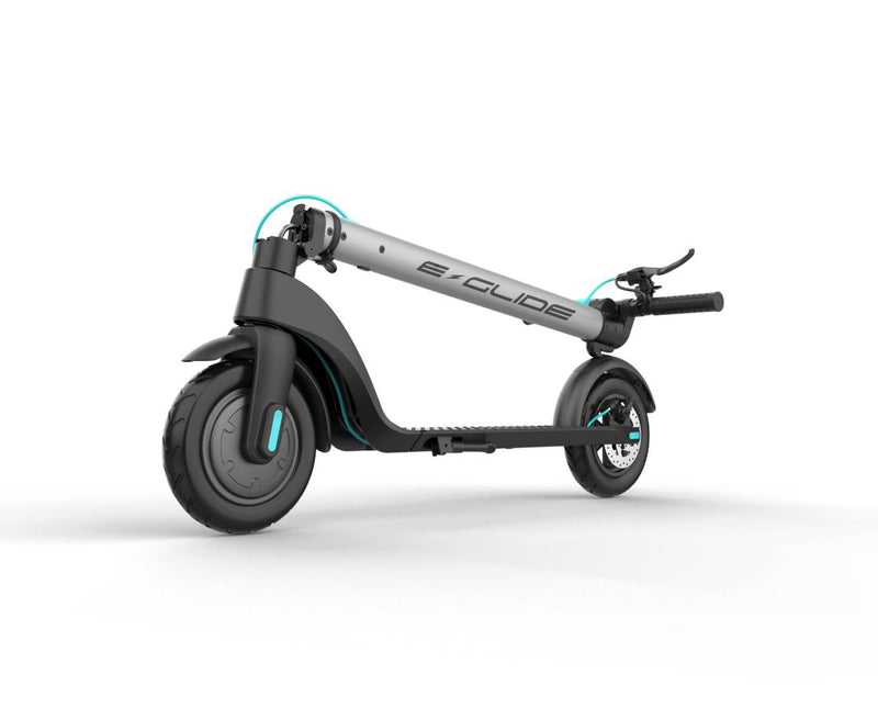 eGlide G60 V3 Electric Scooter Gotham Gunmetal Folded