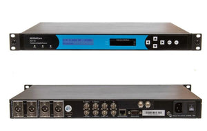 GEOSATpro DSR 160 rack mount IRD with HDMI, component and balanced XLR outputs