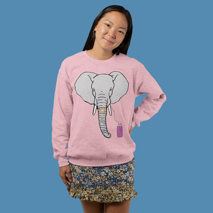 Olifant ZUIG sweater - Dames - Shopping Out Loud