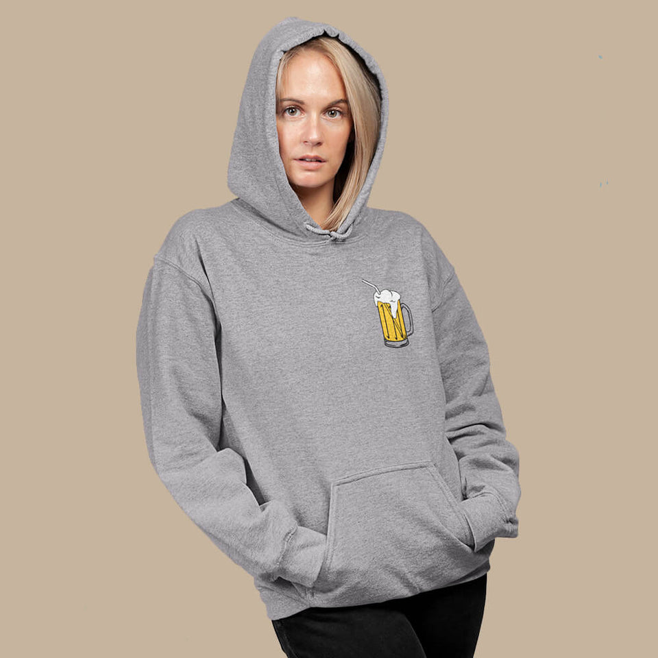 ZUIG bier hoodie - Dames - Shopping Out Loud
