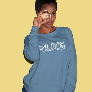 ZUIG letters sweater - Dames - Shopping Out Loud