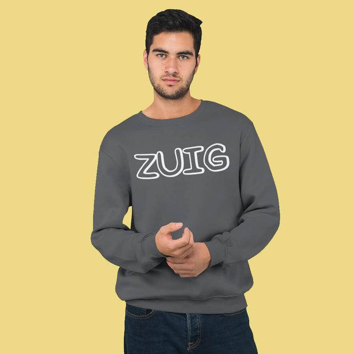ZUIG letters sweater – Heren - Shopping Out Loud