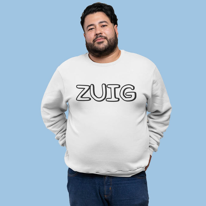 ZUIG letters sweater– Heren - Shopping Out Loud
