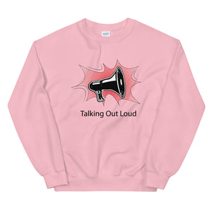 Talking Out Loud Sweater Dames - Shopping Out Loud