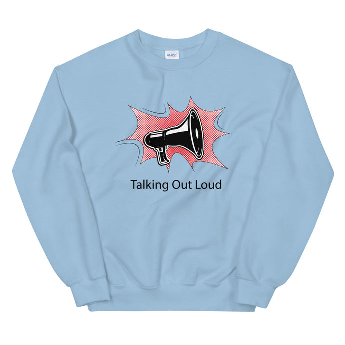 Talking Out Loud Sweater Heren - Shopping Out Loud