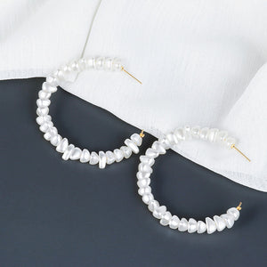 Shells Hoop Earrings