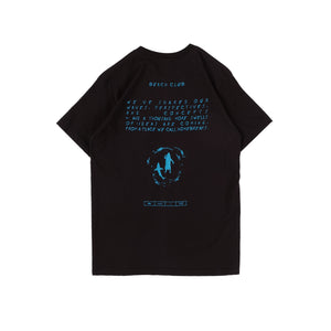Foodz Black Beach Club T-shirt