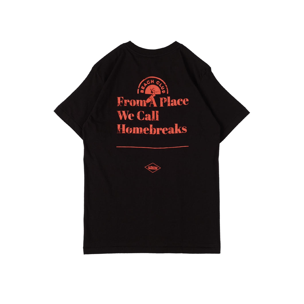 Frontside Black Beach Club T-shirt