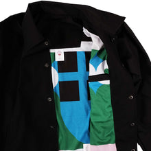 Load image into Gallery viewer, Refsh Black Coach Jacket