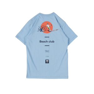 Turnin Baby Blue Beach Club T-shirt