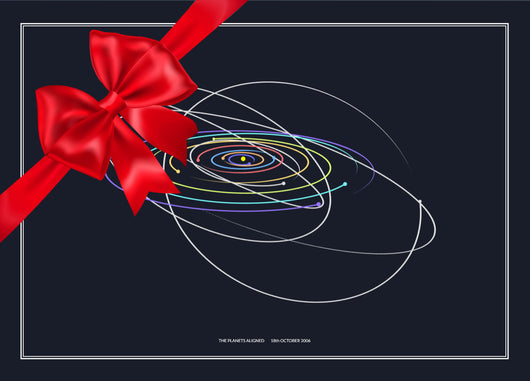 Planets Aligned Gift Card