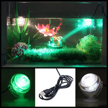 Load image into Gallery viewer, Colorful RGB Remote Control Led Aquarium Fish Tank Submersible LED Spotlight Lighting Underwater Lamp EU Plug 110-240V