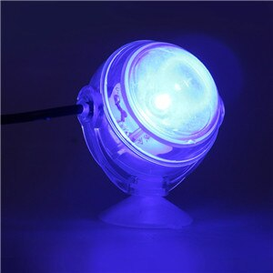 Colorful RGB Remote Control Led Aquarium Fish Tank Submersible LED Spotlight Lighting Underwater Lamp EU Plug 110-240V