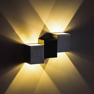 Modern Led Wall Lamp Aluminum Body Wall Light For Bedroom Home Lighting Luminaire Bathroom Light Fixture Wall Sconce