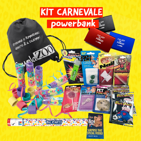 KIT CARNEVALE - POWERBANK