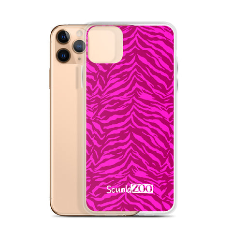 Cover iPhone Animalier rosa