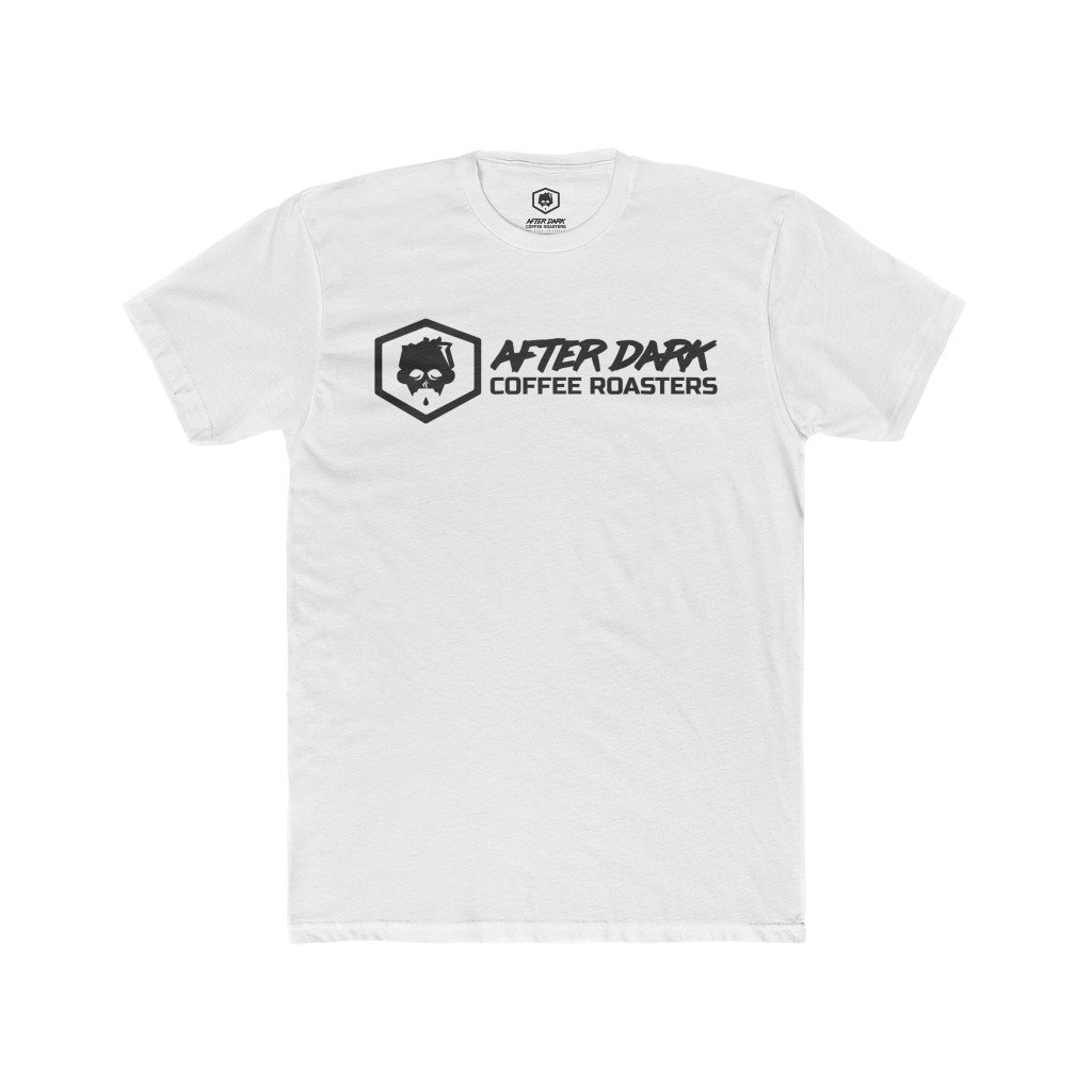 ADC Club Tee T-Shirt After Dark Coffee Roasters Solid White S