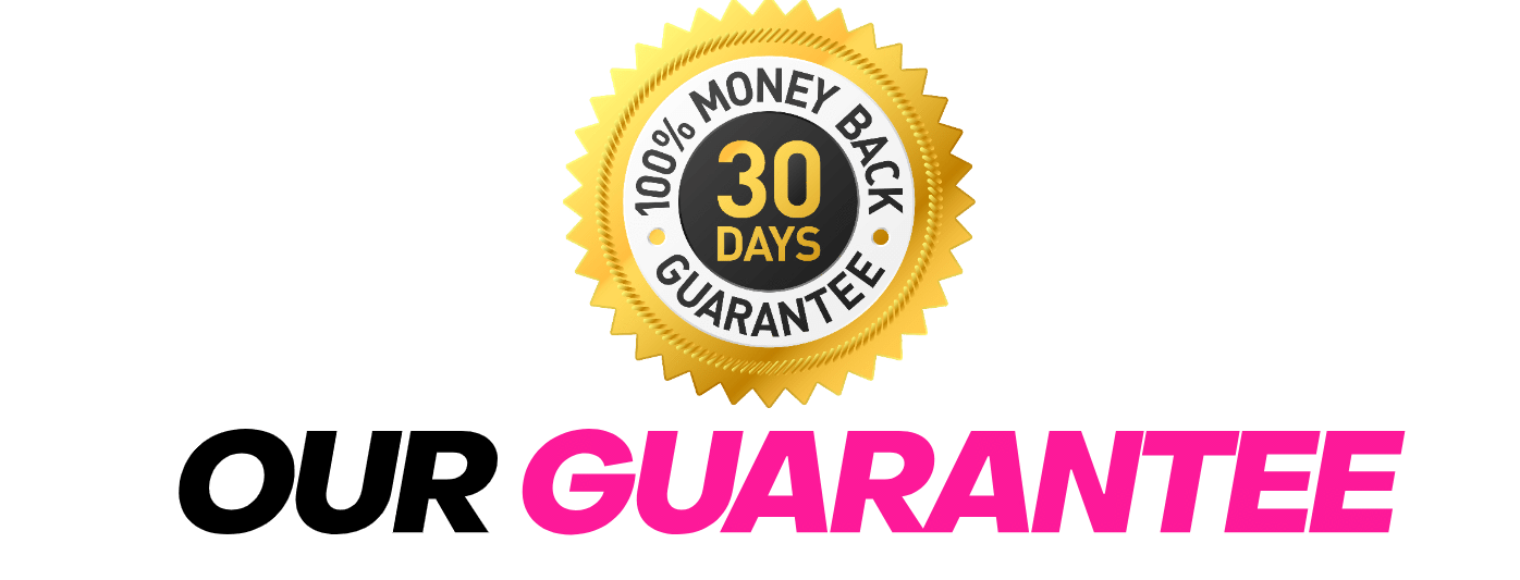 We offer a 30-day money back guarantee