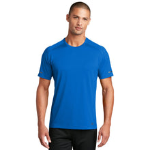Load image into Gallery viewer, OGIO ® ENDURANCE Level Mesh Tee-Electric Blue