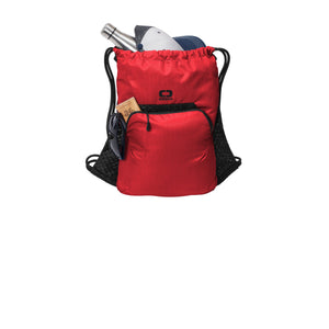 OGIO ® Boundary Cinch Pack - Ripped Red