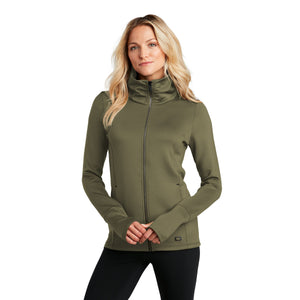 OGIO ® ENDURANCE Ladies Modern Performance Full-Zip - Deep Olive