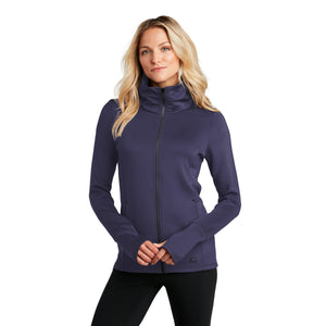 OGIO ® ENDURANCE Ladies Modern Performance Full-Zip - Navy