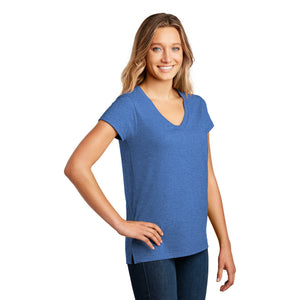 District ® Women's Re-Tee ™ V-Neck - Blue Heather