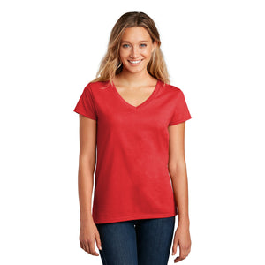 District ® Women's Re-Tee ™ V-Neck - Ruby Red